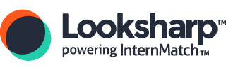 Looksharp (powering InternMatch) Interns Logo