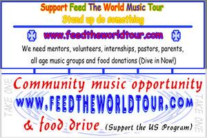 Internship at Feed The World Tour