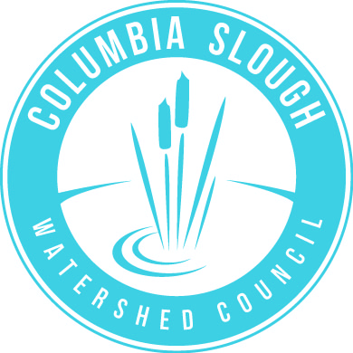Columbia Slough Watershed Council Interns Logo