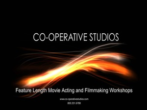 Internship at CO-OPERATIVE STUDIOS