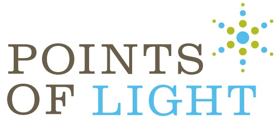 Points of Light Interns Logo