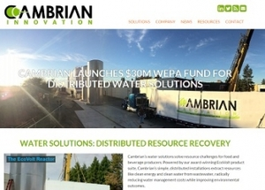 Internship at Cambrian Innovation